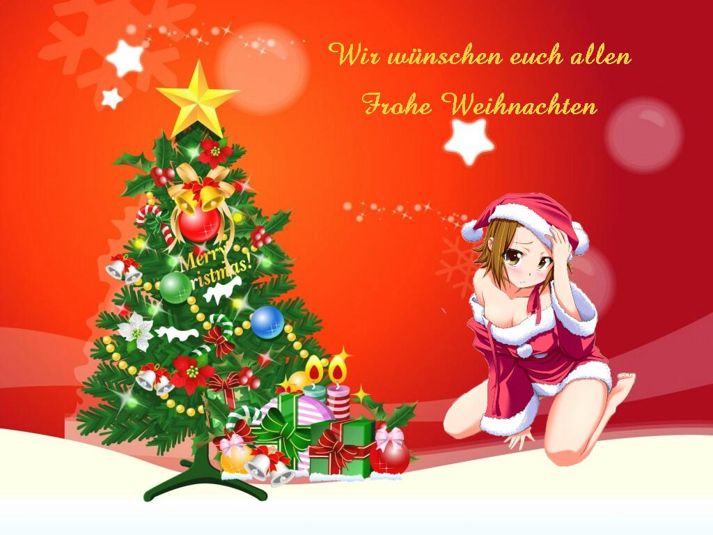 Wünsch Euch Allen Frohe Weihnachten.Weihnachten